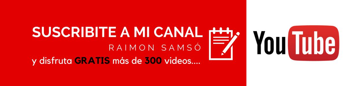 Canal youtube, raimon samso